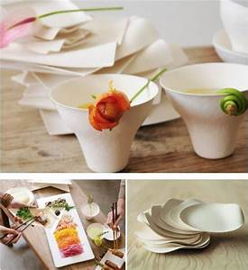 Fancy food presentation using Wasara disposable tableware ...