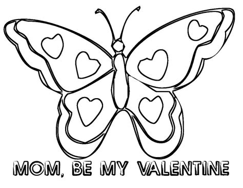 Butterfly pollinating flower printable coloring page. Coloring Pages: Butterfly Free Printable Coloring Pages ...