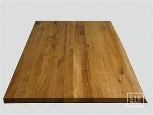 Arbeitsplatte Eiche Geölt : massivholzplatte tischplatte arbeitsplatte eiche rustikal baumkante 40mm ge lt ebay ~ Michelbontemps.com Haus und Dekorationen