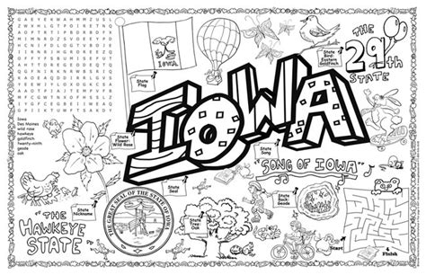 Iowa State Fair Coloring Pages