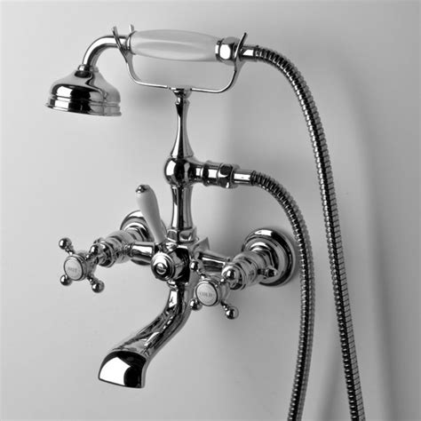 Sink Handles Turn Wrong Way by Waterworks Collection Wall Mount Tub Filler With