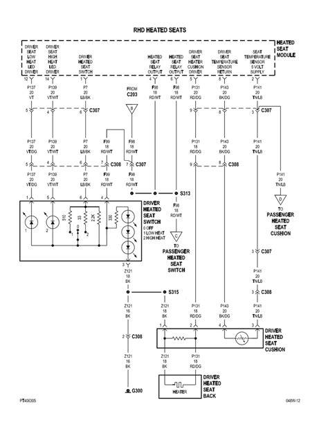chrysler pacifica wiring diagram alarm starter headlight
