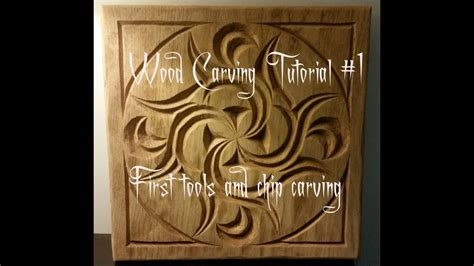 wood carving tutorial   tools  chip carving