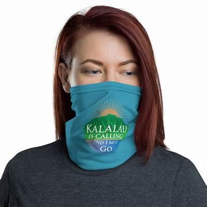 Buff Face Neck Gaiter Kalalau Calling