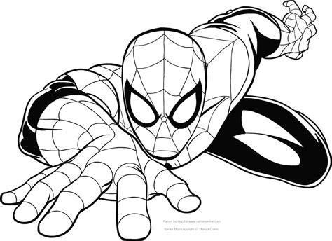disegni da colorare uomo ragno gratis uomo ragno da colorare