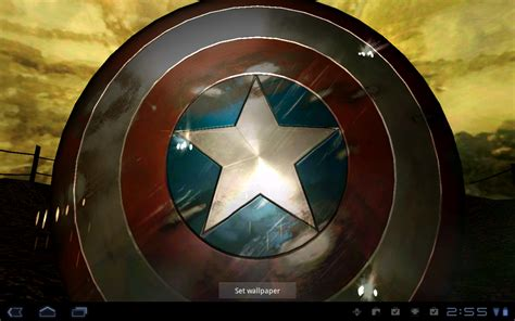 Captain America Animated Wallpaper - android wallpaper review captain america live wallpaper
