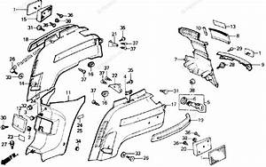 Honda Scooter 1985 Oem Parts Diagram For Body    Cover