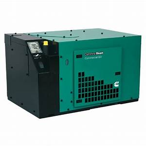 Cummins Onan Commercial Series Qd5000 5kw Diesel Mobile Generator  120 Volt Only