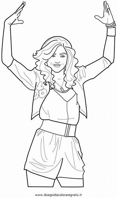 Coloring Zendaya Pages Kc Undercover Printable Colouring