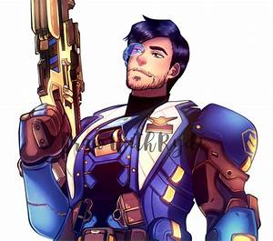 Soldier 76 . Overwatch Commission by rydi1689 on DeviantArt