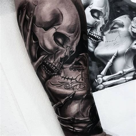 Best 25+ Skull Sleeve Ideas On Pinterest  Skull Tattoos