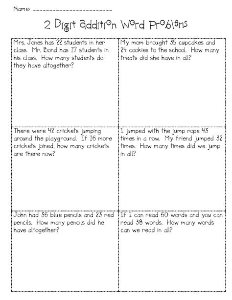addition with regrouping word problems math addition