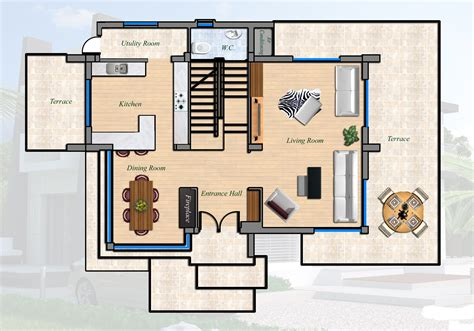 modern bungalow floor plans east coast ultra modern villa 4 bed cyprus property
