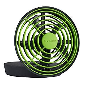 fans that run on batteries amazon com o2cool 5 quot portable jet fan runs on usb or