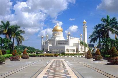 Brunei Sultanate Mosque Historic Things Famous Capital