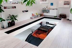 Nine Car Garage Kre House by No 555 Architectural Design Office 18