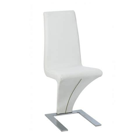 chaises salle 224 manger blanches le monde de l 233 a