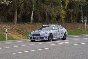 Spied  The 2021 G80 Bmw M3 Spotted With A Manual Gearbox