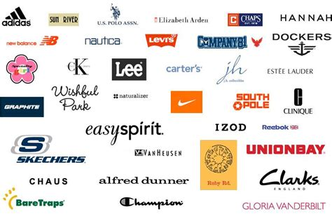 Car Clothing Brands by Characteristics Of Best Clothing Brand Logos