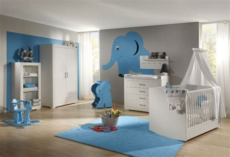 decoration chambre bébé garçon deco chambre bebe bleu canard chaios com