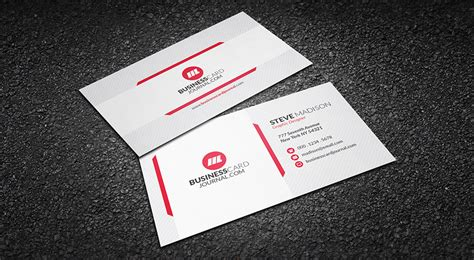 clean business card template free free clean subtle background business card template