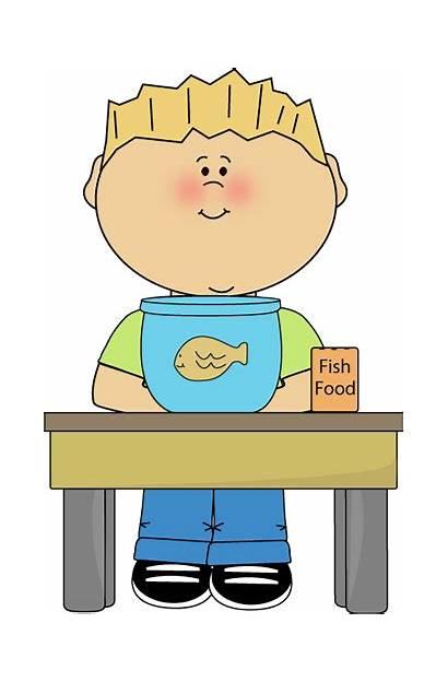 Helper Clipart Classroom Pet Boy Clip Preschool