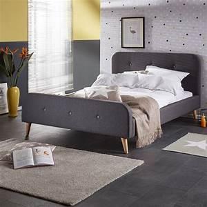Schlafzimmer Dänisches Bettenlager : bett ringsted 140x200 grau betten schlafzimmer r ume d nisches bettenlager ~ Sanjose-hotels-ca.com Haus und Dekorationen