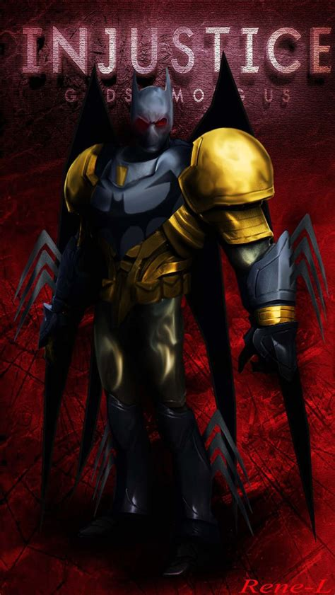 Hot Injustice Art Contest Batman By Renel On Deviantart