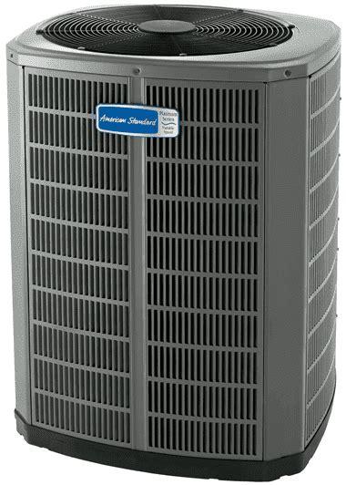 accucomfort platinum heat pump seer unit american standard