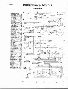 88 Firebird Engine Wiring Color Codes  Diagram