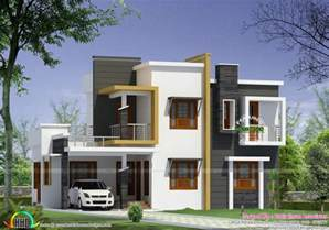 types of house plans home design box type modern house plan kerala home design