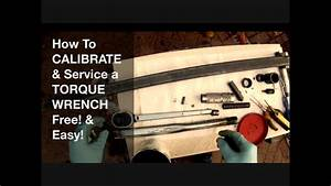 Torque Wrench Service And Calibration