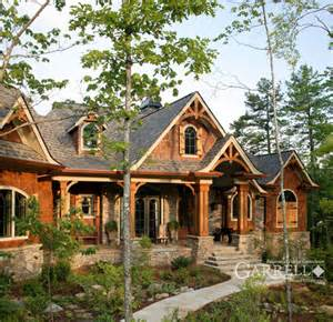 mountainside home plans rustic luxury mountain house plan the lodgemont cottage