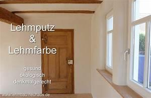 Lehmputz Im Bad : lehmputz lehmfarbe und lehmfeinputz lehmbau neuhaus ~ Michelbontemps.com Haus und Dekorationen