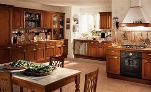 cuisine l ancienne leon de dco donner un style campagne With plan de maison moderne 14 cuisine rustique idee deco cuisine ancienne marie claire