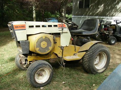 Sears Garden Tractor Parts by Wtb Sears Garden Tractors Nex Tech Classifieds