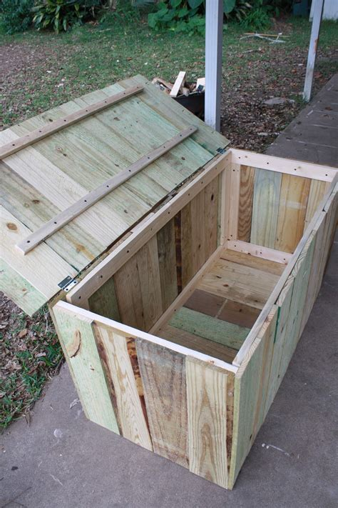 Outdoor Patio Bench Storage Box