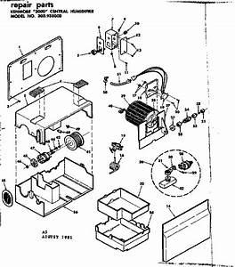 Kenmore 12 Gallon Humidifier Manual