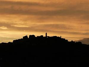 silhouette of village on hill free image | Peakpx