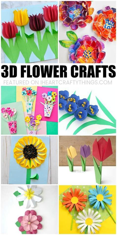 beautiful 3d flower crafts for flower activities 231 | f5f1fc201fcbf1e6959a785cdd017d91