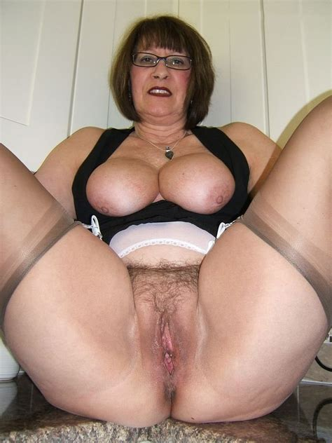 Spread Your Mature Pussy For Me