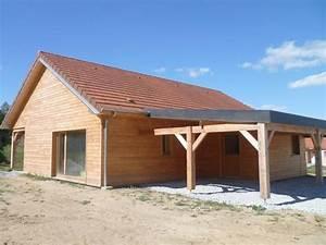 terrasse couverte ossature bois With terrasse couverte en bois