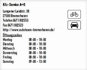 Tedox Bremerhaven öffnungszeiten : kfz service a o in bremerhaven ffnungszeiten ~ Watch28wear.com Haus und Dekorationen