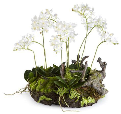 artificial dendrobium drop in plant modern artificial