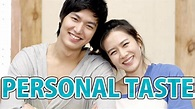 Personal Taste - KDrama Review - YouTube