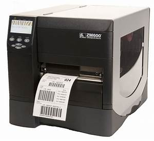 zebra zm600 industrial thermal transfer label printer am With label print technologies