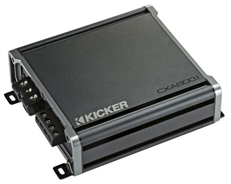 Kicker 46cxa8001 Car Audio Class D Amp Mono 1600w Peak Sub