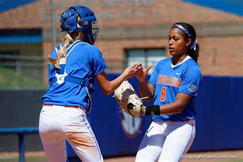 shutouts push florida gators softball lsu