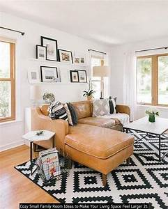 20, Cozy, Small, Family, Room, Ideas, To, Make, Your, Living, Space, Feel, Larger, In, 2020
