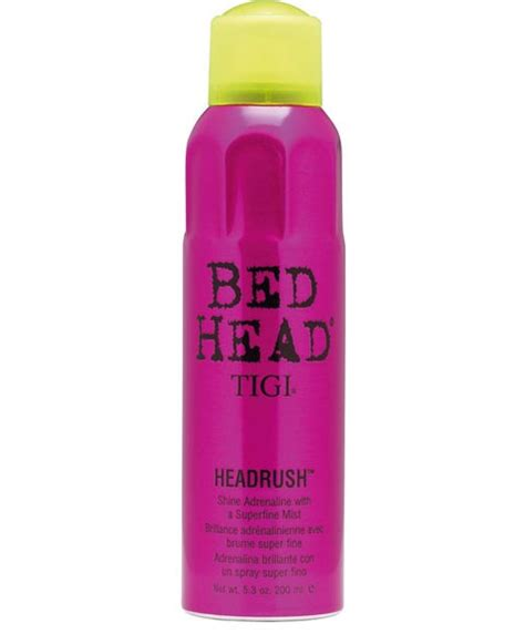 Bed Headrush by Tigi Bed Bed Shine Mist Myhairandbeauty